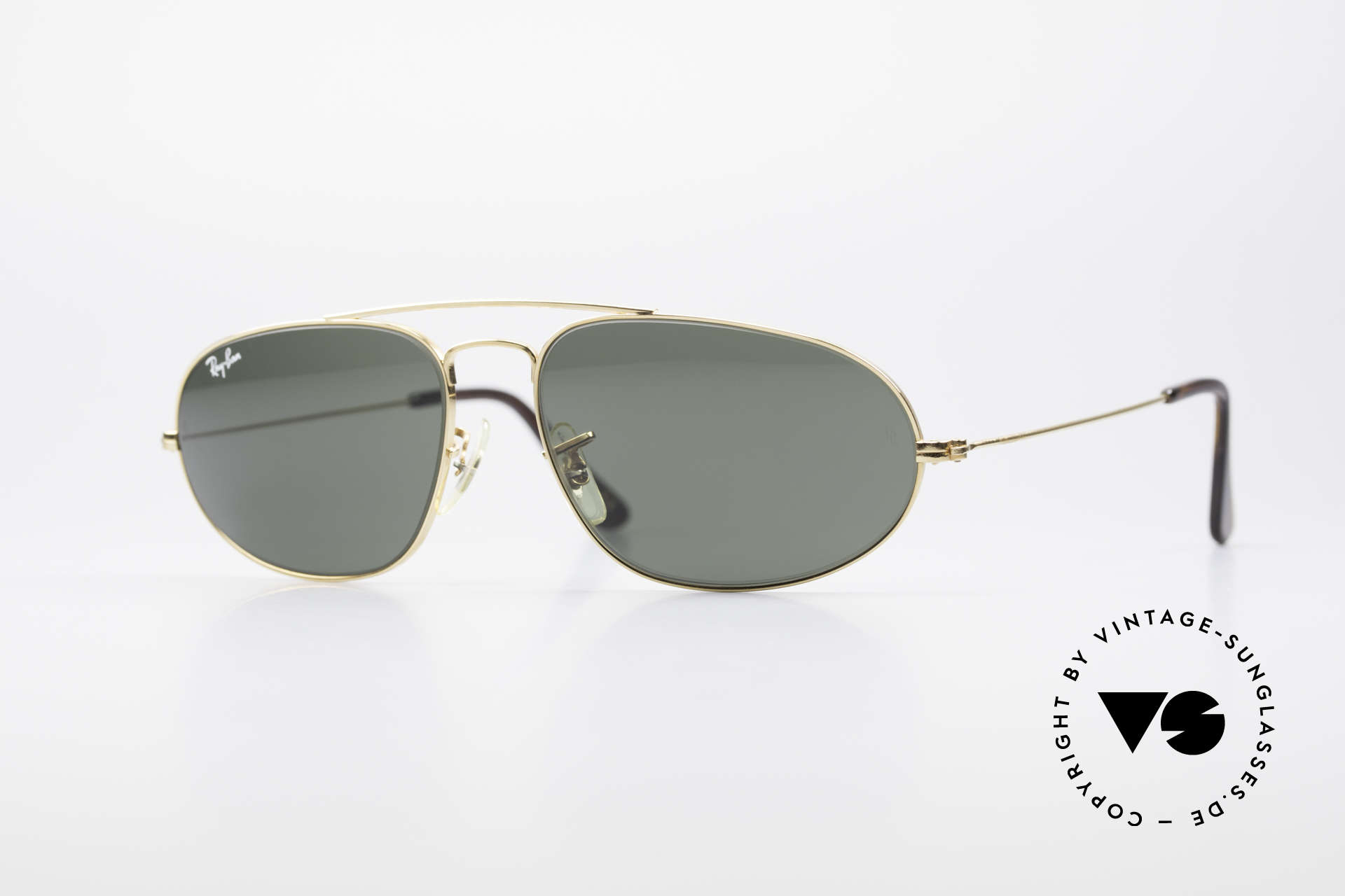 Ray Ban Fashion Metal 5 Extraordinary Aviator Shades, vintage frame of the Fashion Metal Collection, Made for Men