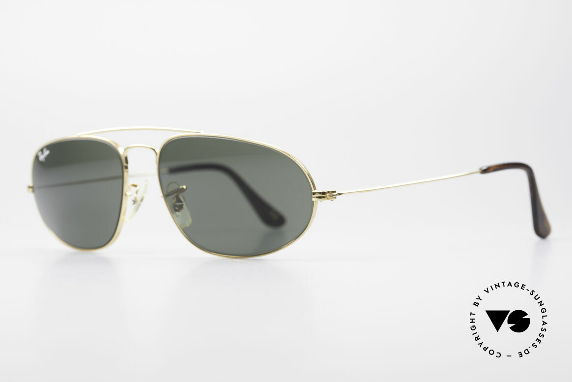 Ray Ban Fashion Metal 5 Extraordinary Aviator Shades, high-end Bausch&Lomb mineral lenses (B&L), Made for Men