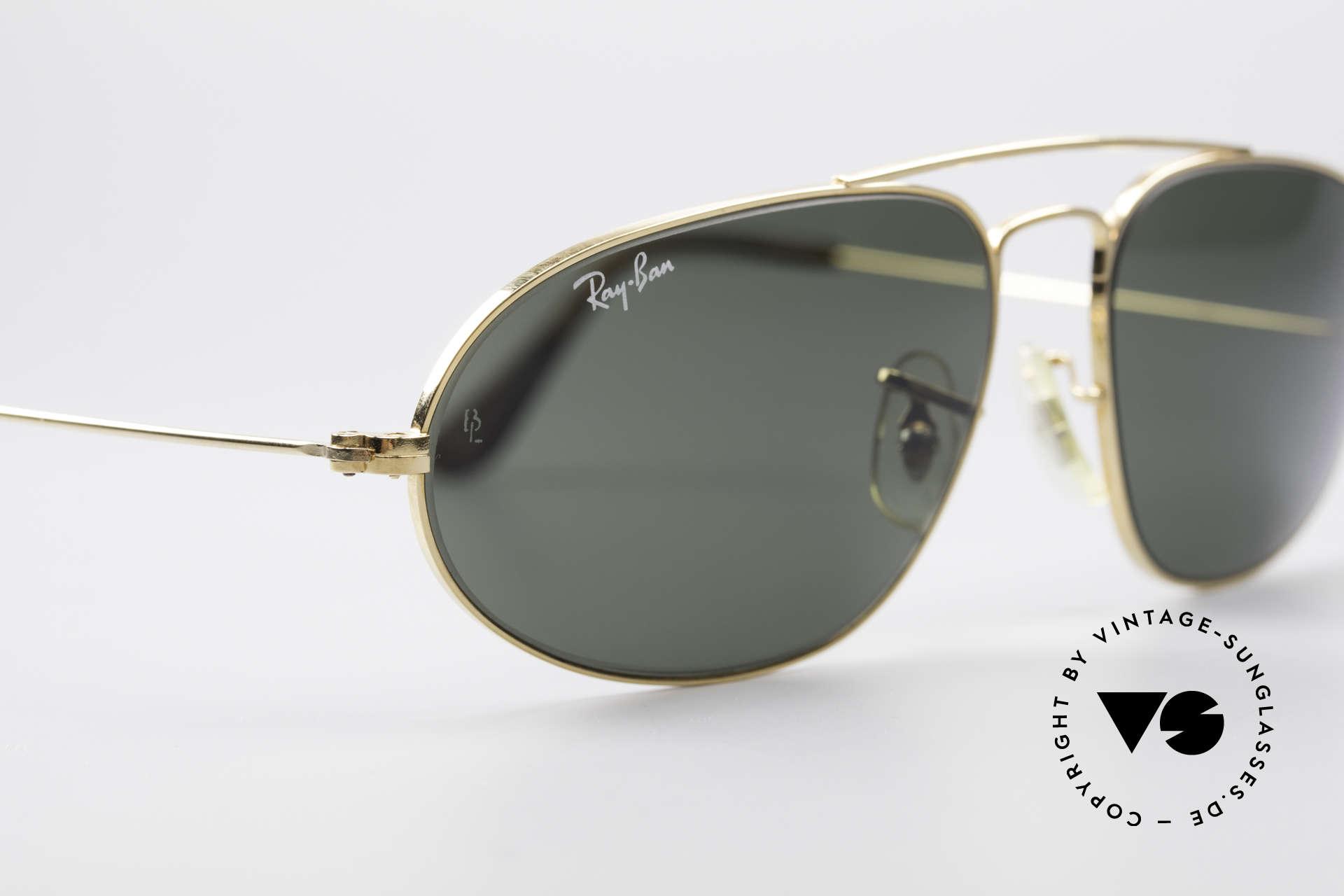 Ray Ban Fashion Metal 5 Extraordinary Aviator Shades, name: Fashion Metals 5, W1597, G-15, 58-16, Made for Men