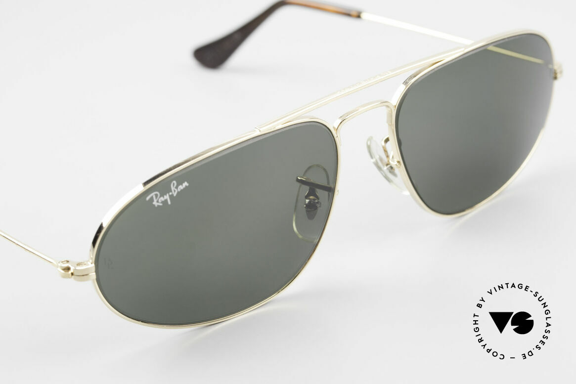 Ray Ban Fashion Metal 5 Extraordinary Aviator Shades, NO RETRO sunglasses, but an old USA original, Made for Men