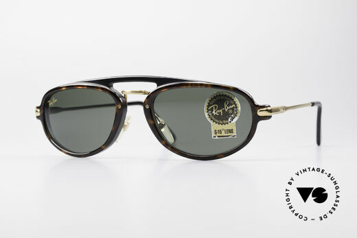 Ray Ban Traditionals Combo B Rare Old Vintage Sunglasses Details