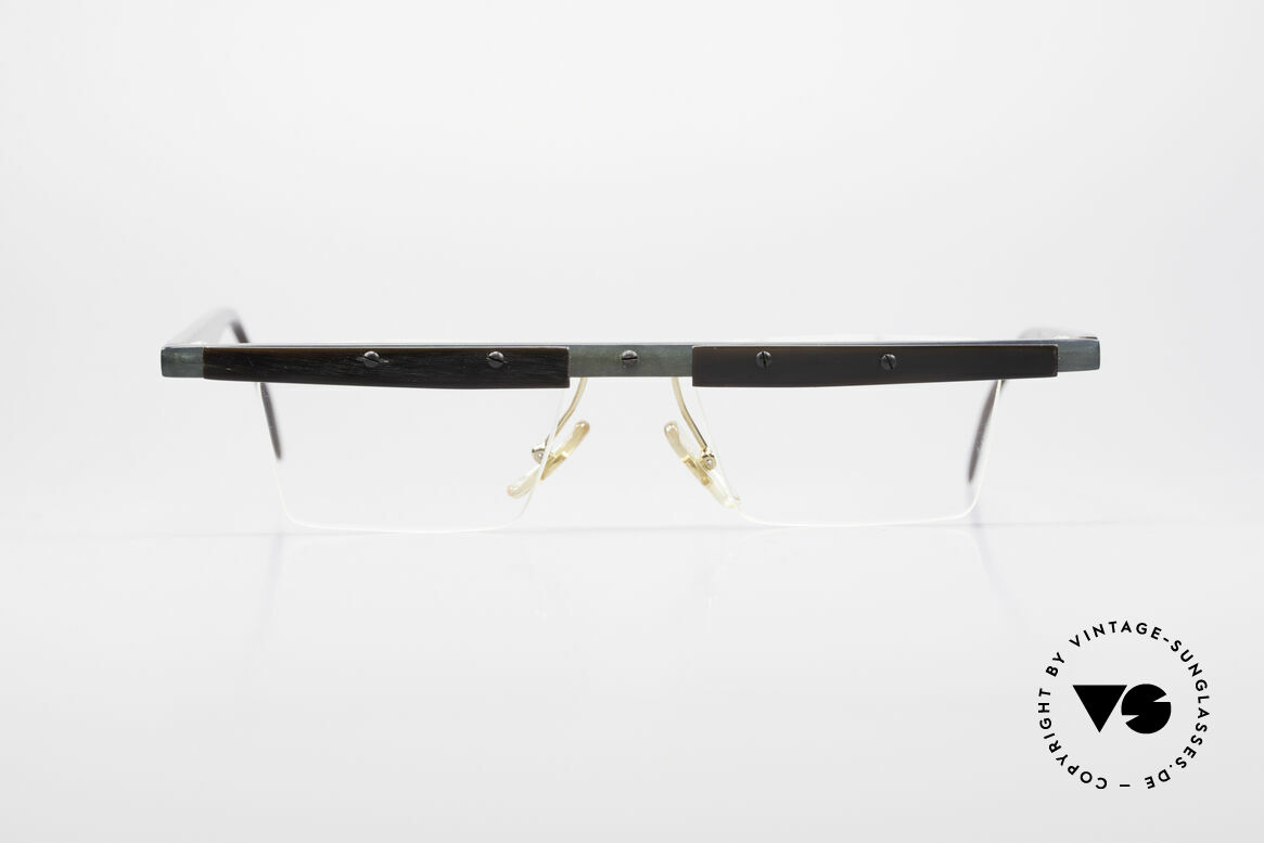 Theo Belgium Lambeta 80's Buffalo Horn Eyeglasses, founded in 1989 as 'anti mainstream' eyewear / glasses, Made for Men