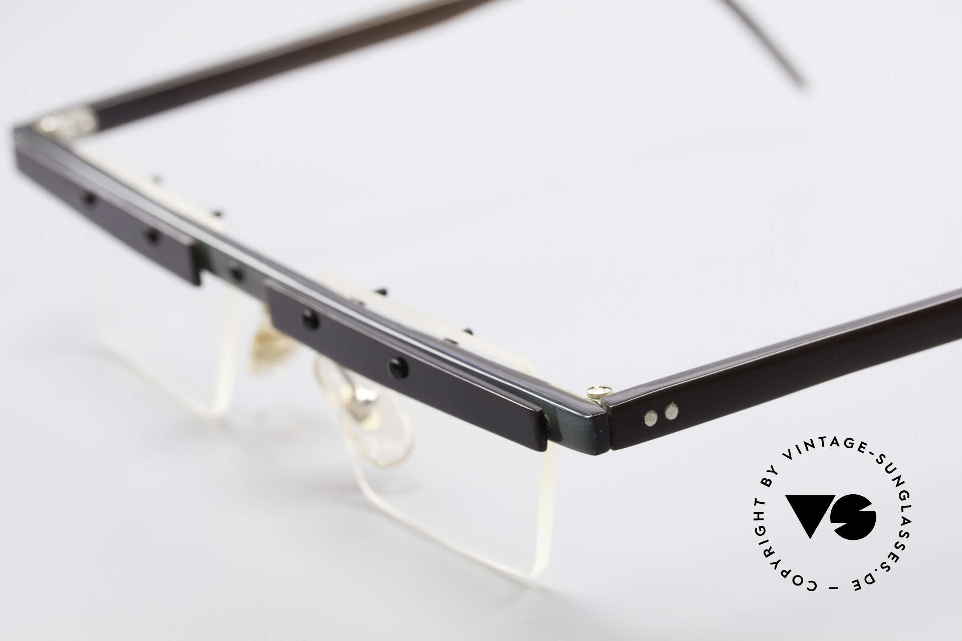 "Theo Belgium Lambeta 80's Buffalo Horn Eyeglasses, the first Theo collection ""Balkenbril"" was made of horn, Made for Men"