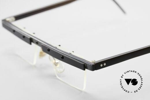 Theo Belgium Lambeta 80's Buffalo Horn Eyeglasses