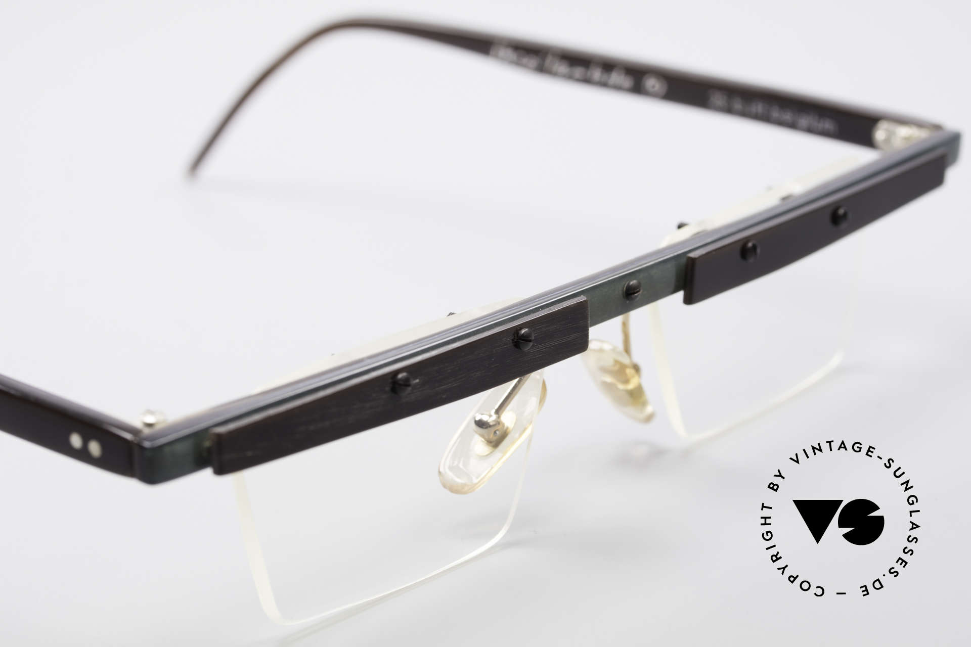 Theo Belgium Lambeta 80's Buffalo Horn Eyeglasses, so to speak: vintage eyeglasses with representativeness, Made for Men