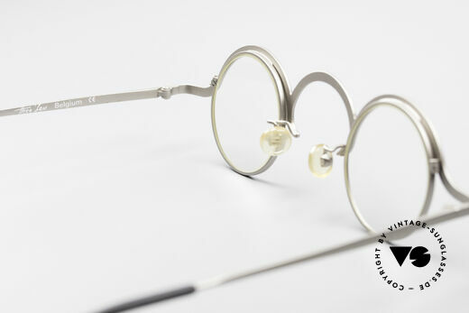 Theo Belgium Jeu Avant-Garde Vintage Specs, clear DEMO lenses should be replaced with prescriptions, Made for Men and Women
