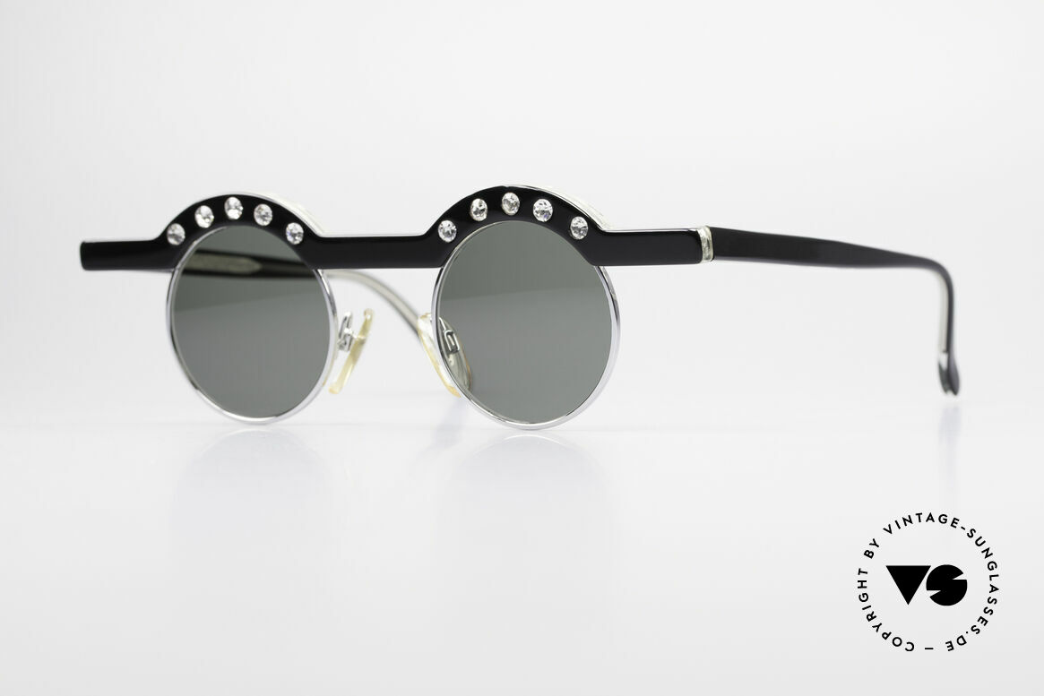 Theo Belgium Revoir Rare Round Gem Sunglasses, Theo Belgium: the most self-willed brand in the world, Made for Women