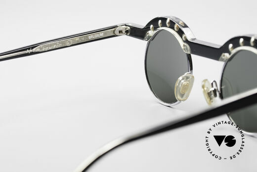 Theo Belgium Revoir Rare Round Gem Sunglasses, so to speak: vintage sunglasses with representativeness, Made for Women