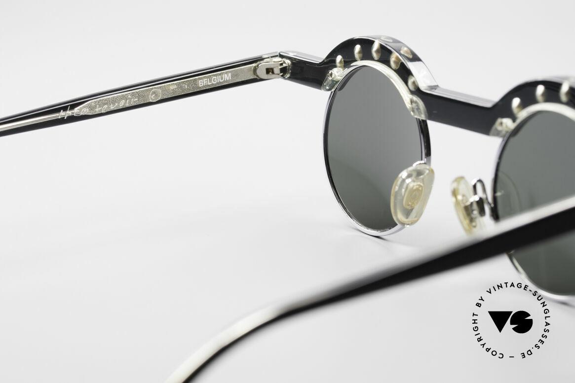Theo Belgium Revoir Rare Round Gem Sunglasses