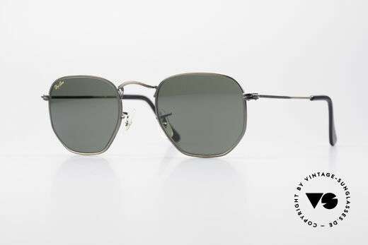 Ray Ban Classic Style III Antique B&L USA Sunglasses Details