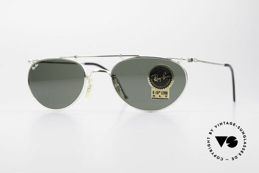Ray Ban Deco Metals Oval Old B&L USA Sunglasses Details