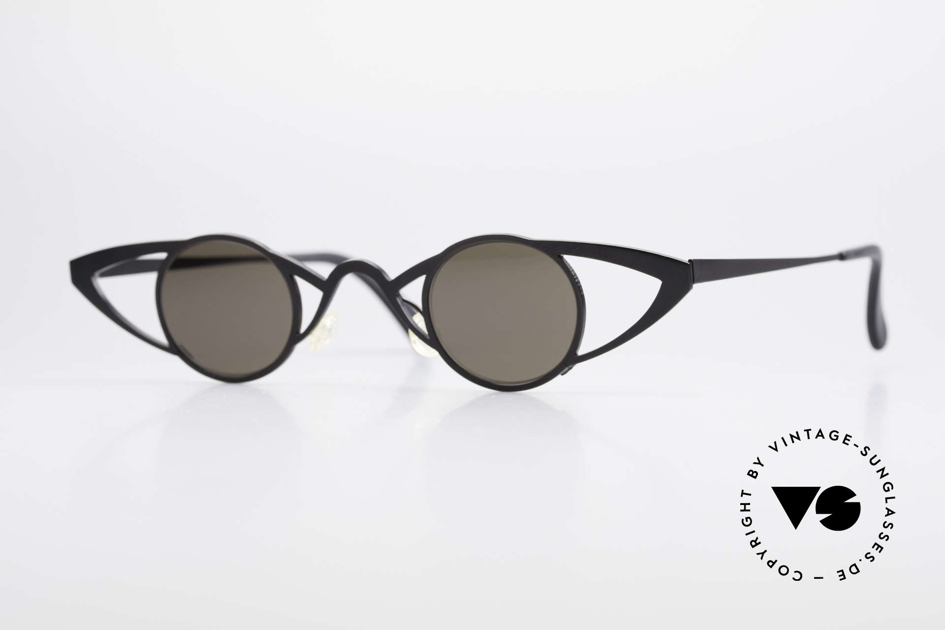 Theo Belgium Saturnus Round Designer Sunglasses, Theo Belgium: the most self-willed brand in the world, Made for Women