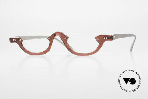 Theo Belgium Eye-Witness AE27 Crazy Reading Eyeglasses Details