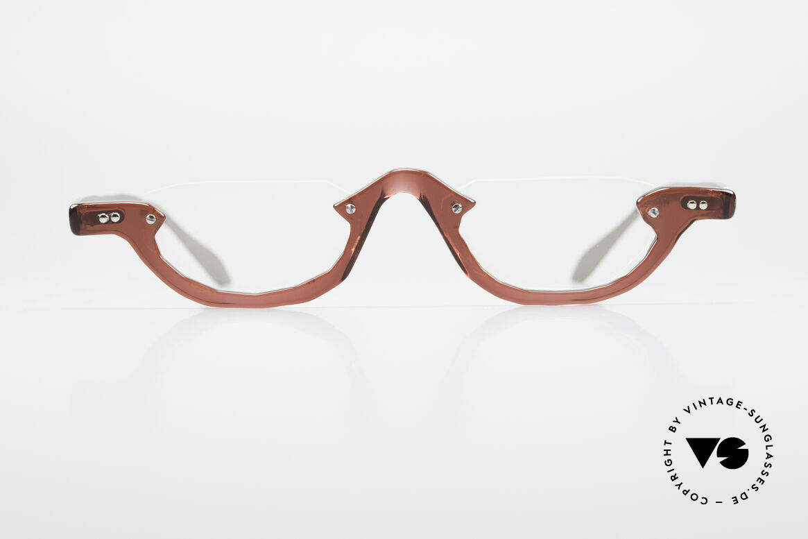 Theo Belgium Eye-Witness AE27 Crazy Reading Eyeglasses, founded in 1989 as 'opposite pole' to the 'mainstream', Made for Men and Women