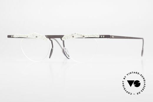 Theo Belgium Tita VII B4 Titanium Frame With Leather Details
