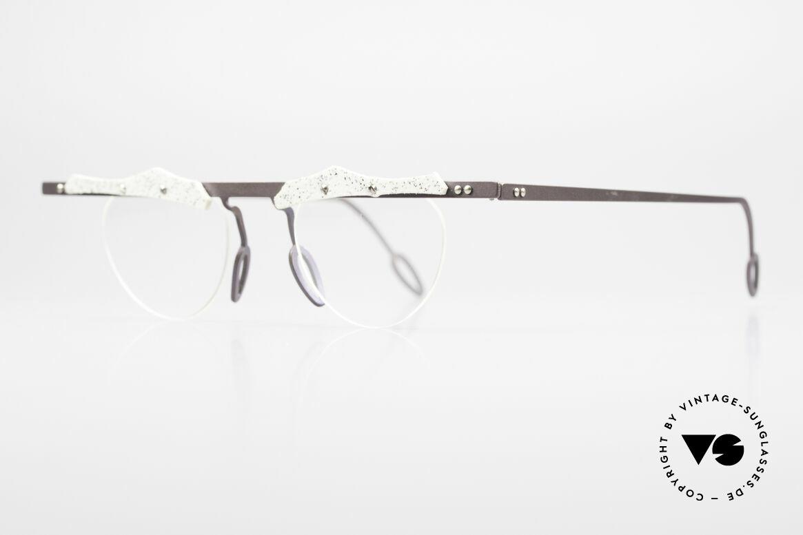 Theo Belgium Tita VII B4 Titanium Frame With Leather