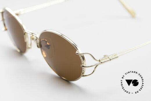 Jean Paul Gaultier 55-6104 Oval Designer Sunglasses