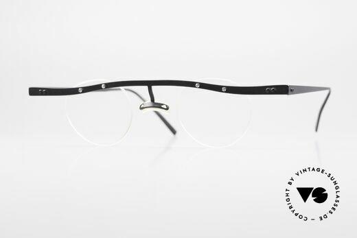 Theo Belgium Tita II 11 Titanium Vintage Eyeglasses Details