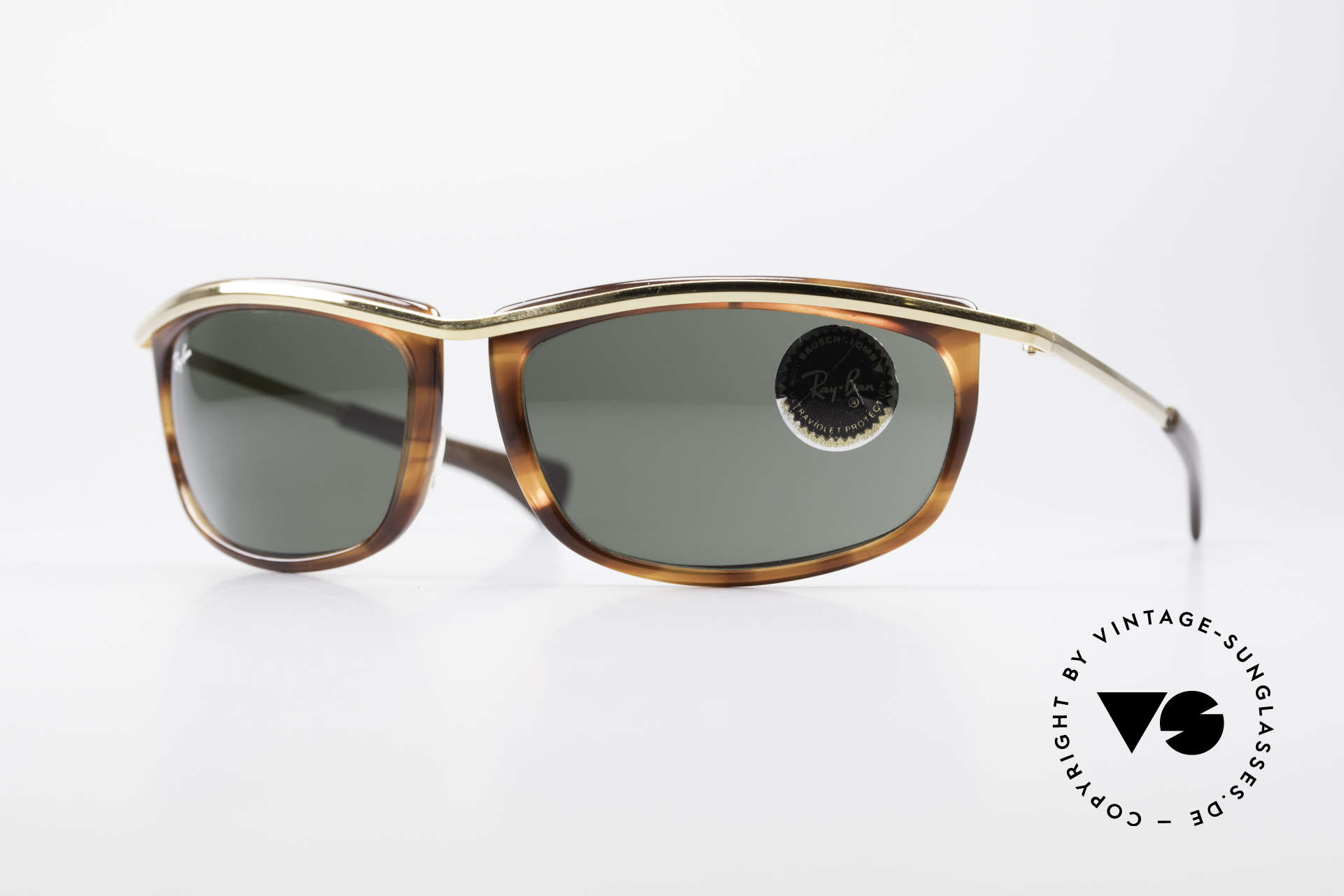 Ray Ban Olympian I Sporty USA B&L Sunglasses, sporty model from Ray Bans 'Olympian Collection', Made for Men