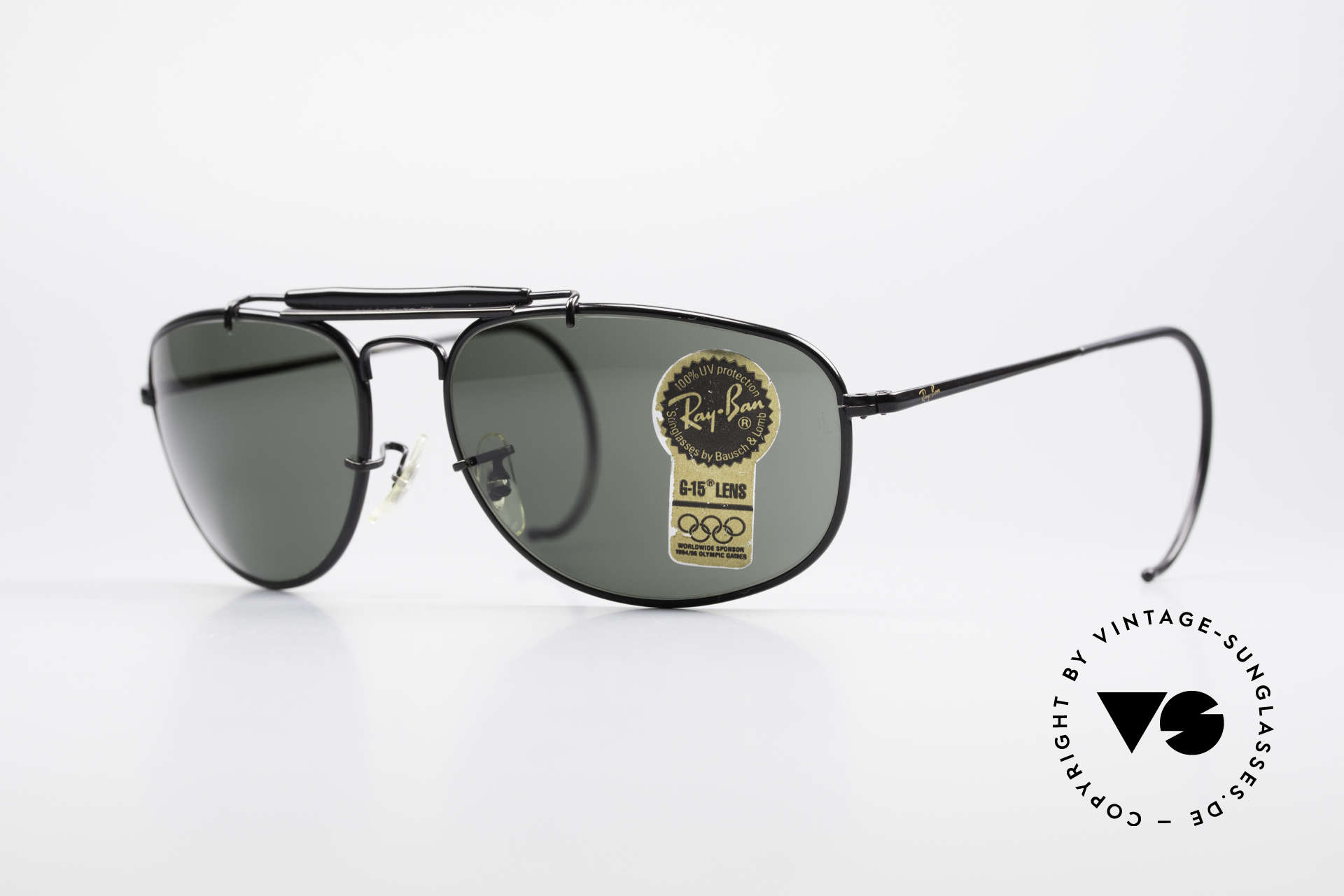 Ray Ban Sport Metal 1992 Olympic Series B&L USA, rare vintage RAY-BAN sunglasses OLYMPIC GAMES 1992, Made for Men