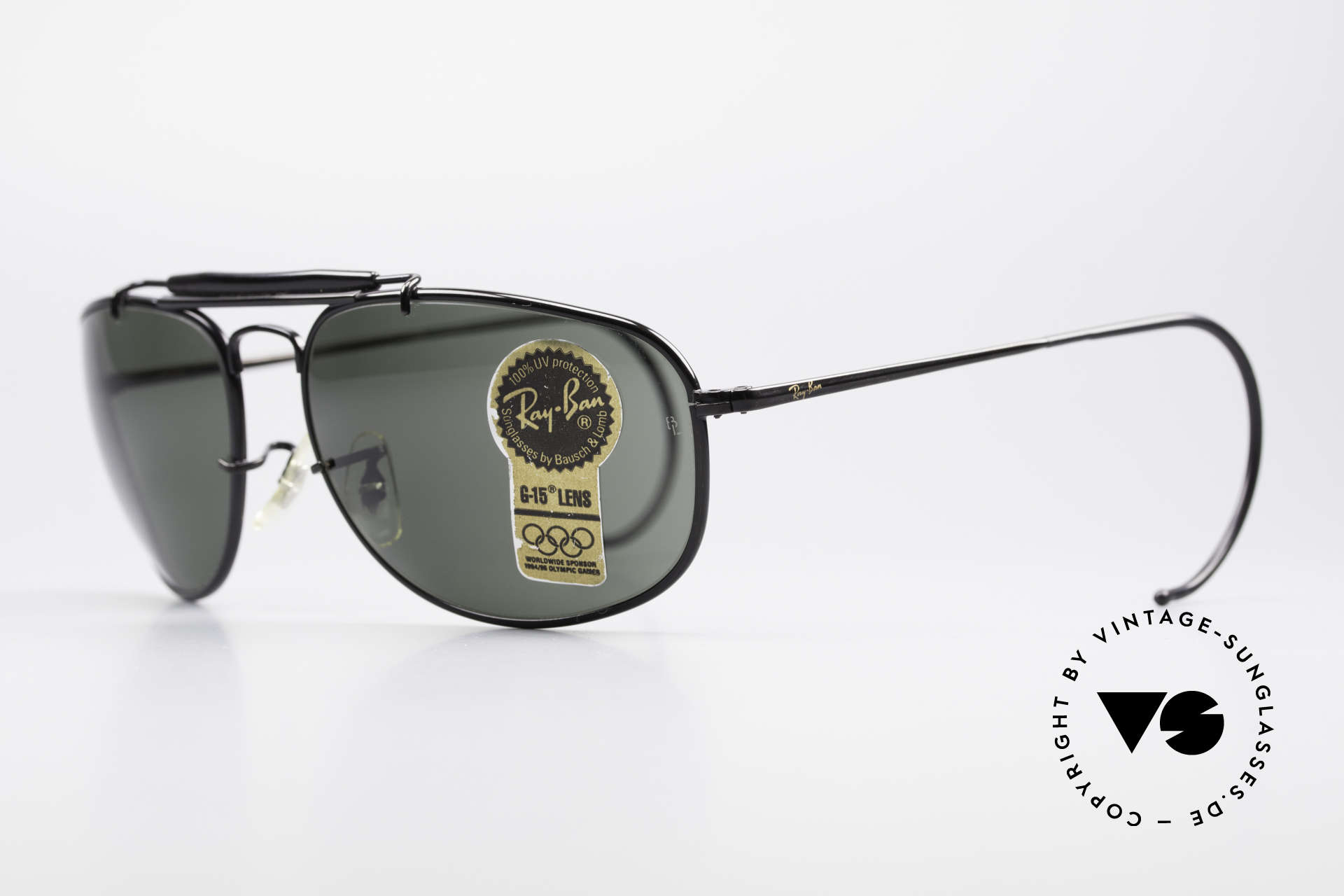 Ray Ban Sport Metal 1992 Olympic Series B&L USA, perfect fit due to flexible sport temples and TOP quality, Made for Men