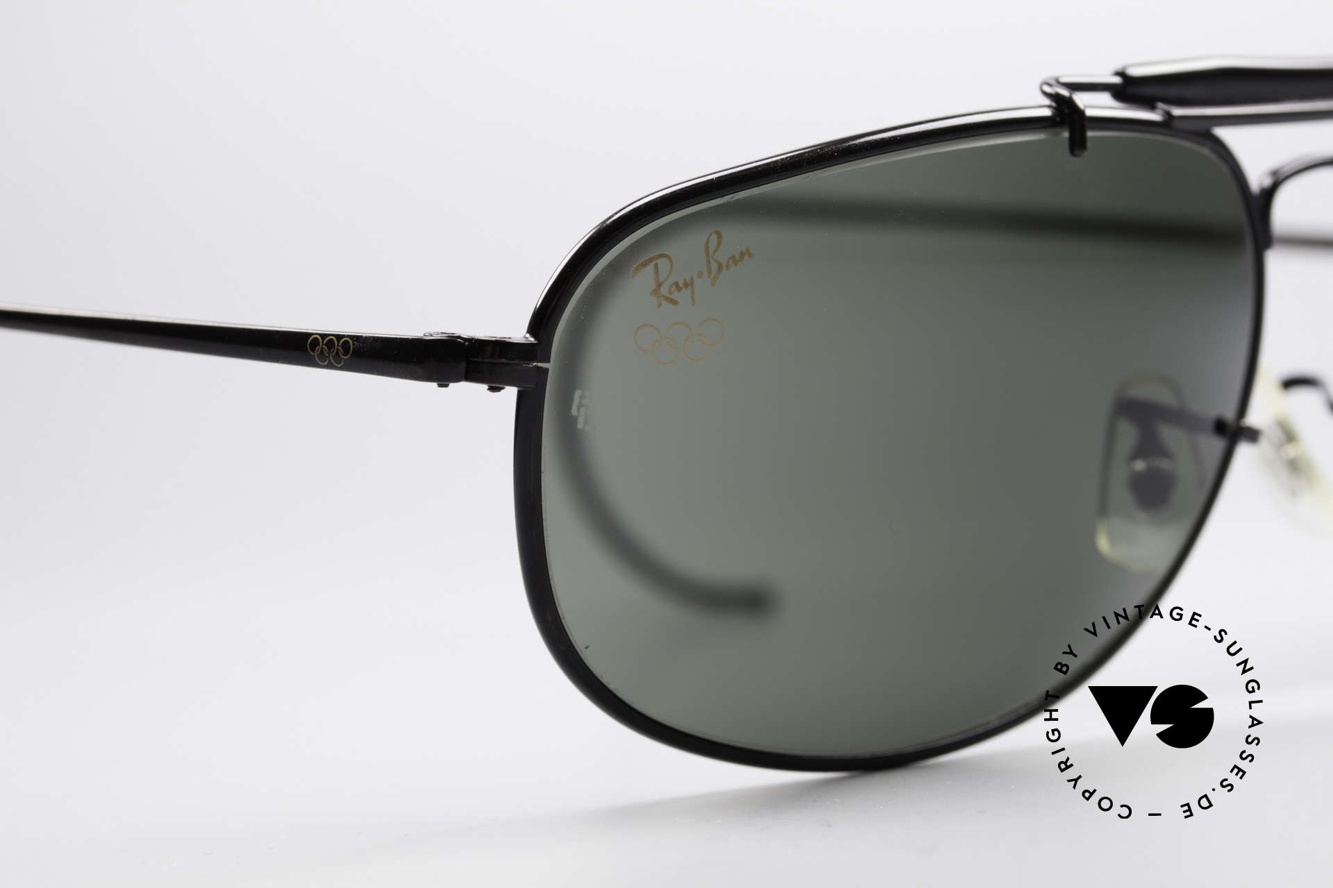 Ray Ban Sport Metal 1992 Olympic Series B&L USA, NO RETRO sunglasses, but a 25 years old B&L-Original!, Made for Men