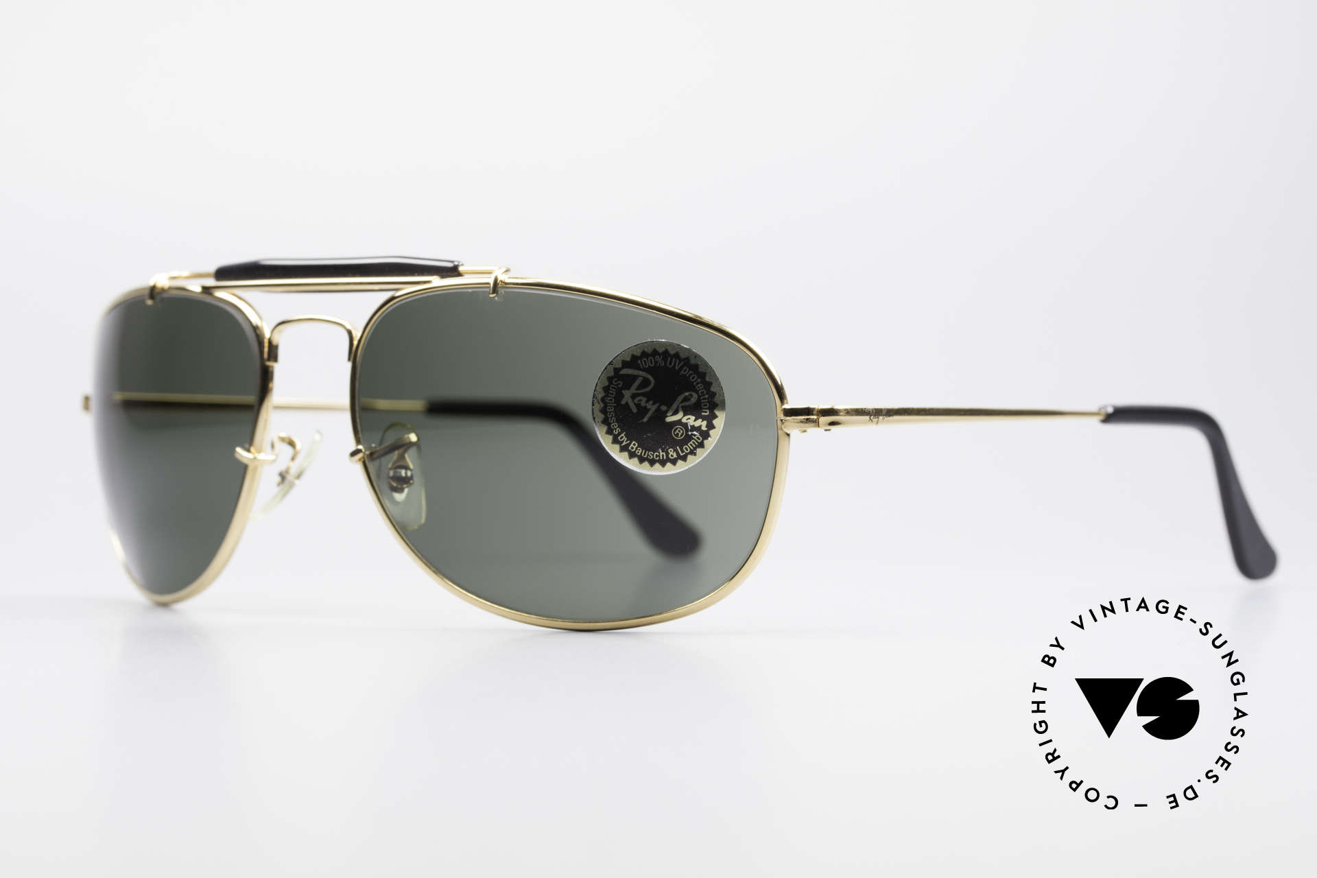 Ray Ban Sport Metal 1992 Rare Olympic Series B&L USA, top-notch craftsmanship by B&L (very pleasant to wear), Made for Men