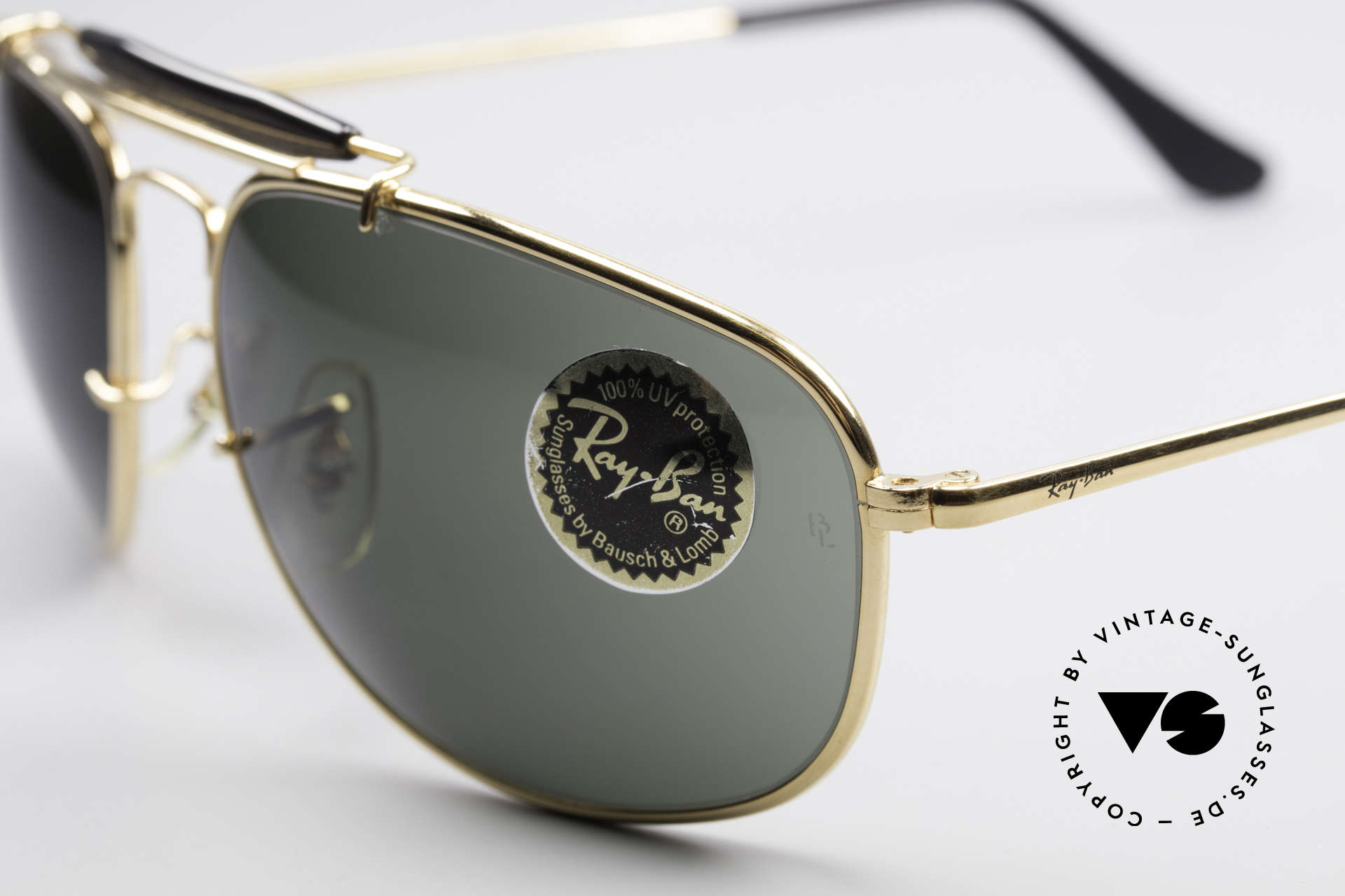 Ray Ban Sport Metal 1992 Rare Olympic Series B&L USA, unworn; like all our vintage USA Ray Ban sports glasses, Made for Men