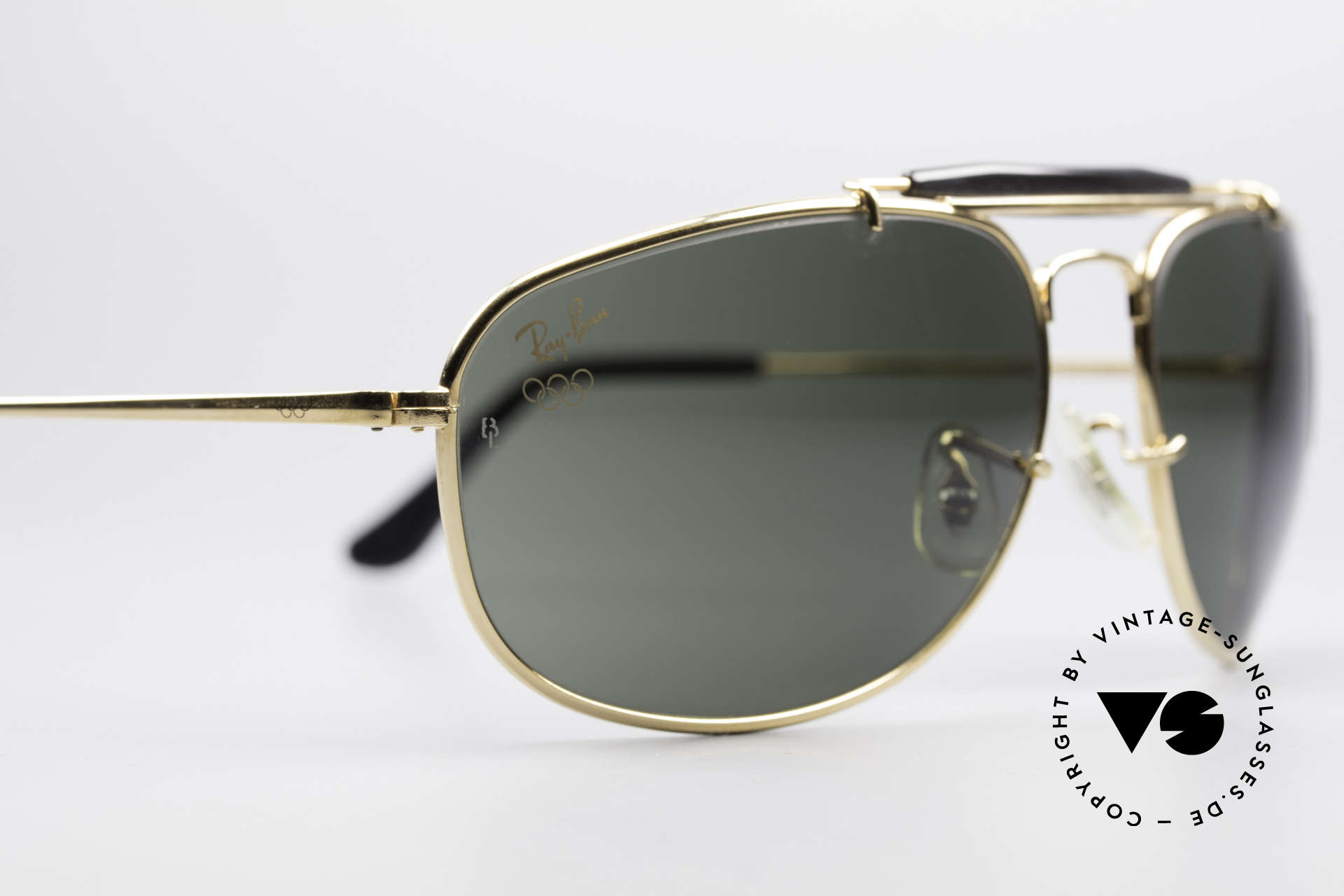 Ray Ban Sport Metal 1992 Rare Olympic Series B&L USA, NO RETRO sunglasses, but a 25 years old B&L-Original!, Made for Men