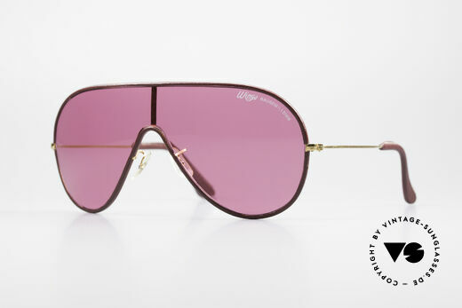Bausch & Lomb Wings Rare Pink Leather Shades Details