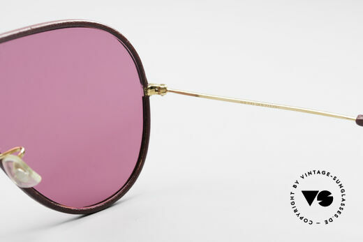 Bausch & Lomb Wings Rare Pink Leather Shades