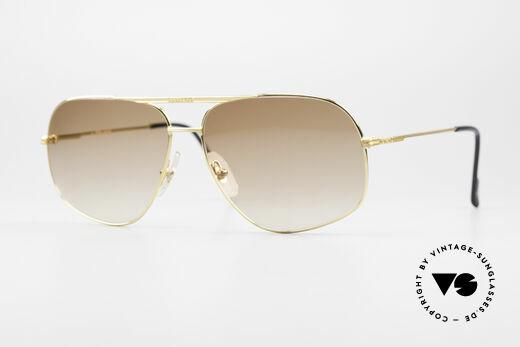Ferrari F41 80's Vintage Sunglasses Men Details
