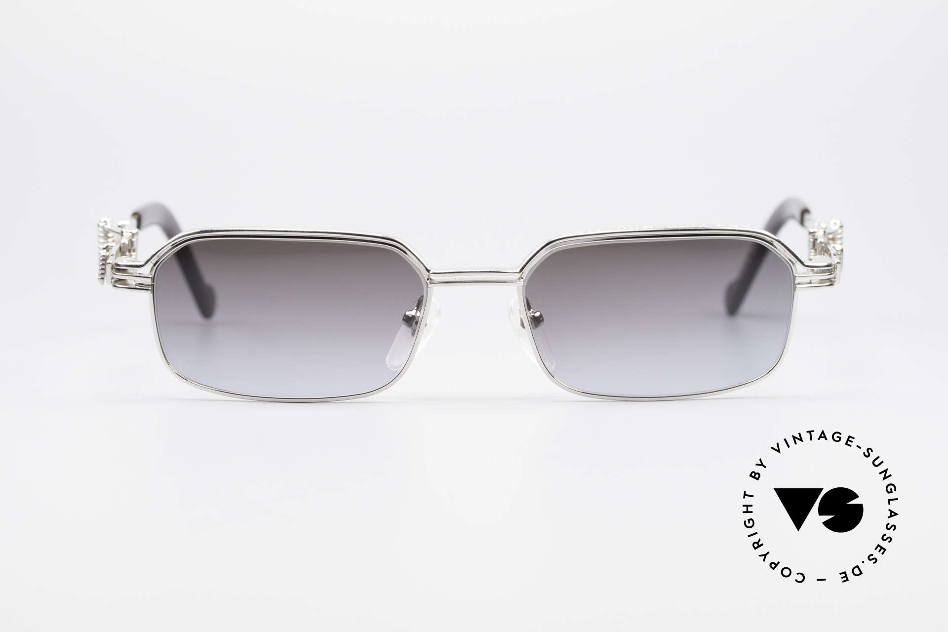 Jean Paul Gaultier 56-0002 Belt Buckle Frame Adjustable, outstanding quality (rhodanized TITANIUM frame), Made for Men