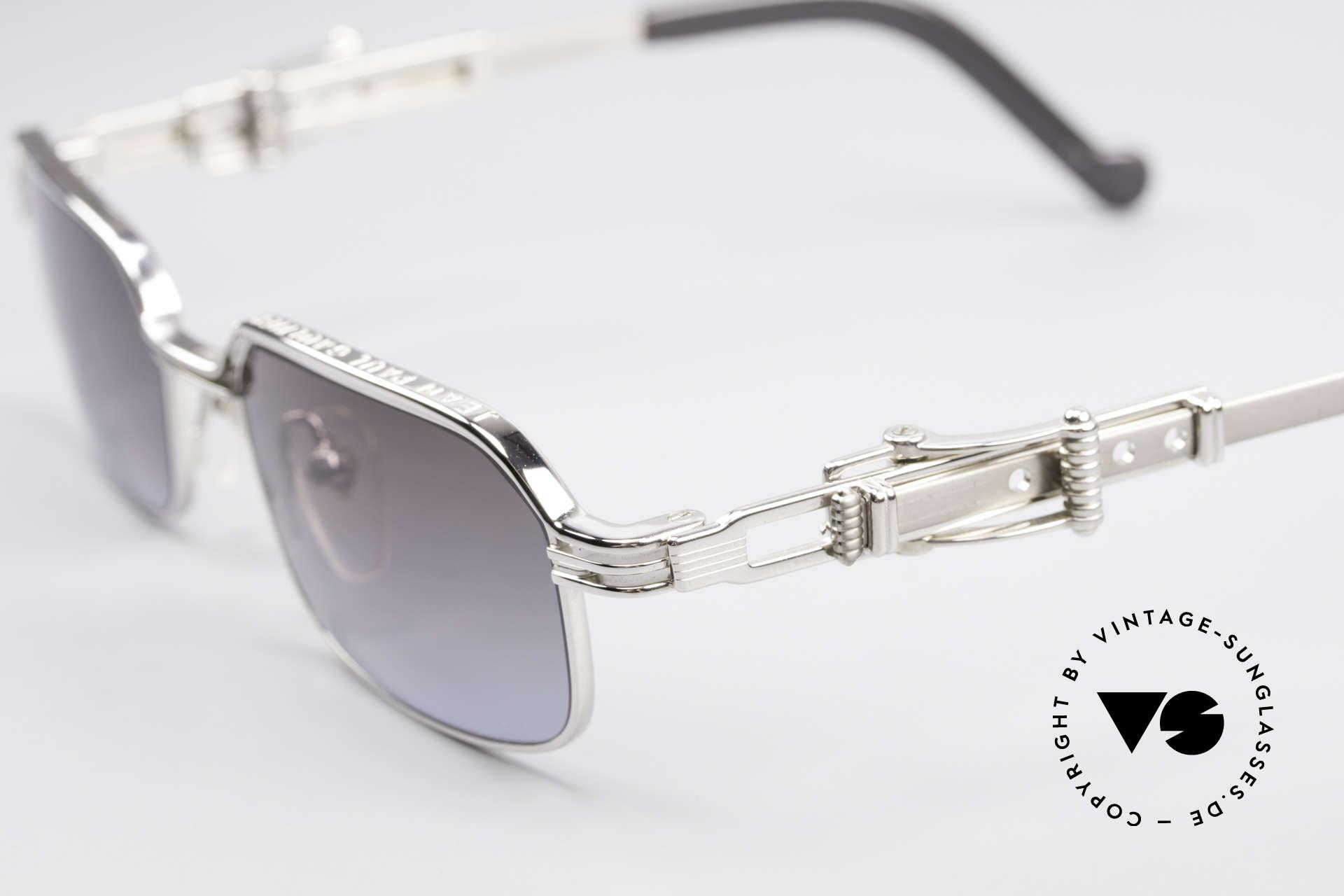 Jean Paul Gaultier 56-0002 Belt Buckle Frame Adjustable, unworn designer piece (precious, rare, treasured), Made for Men