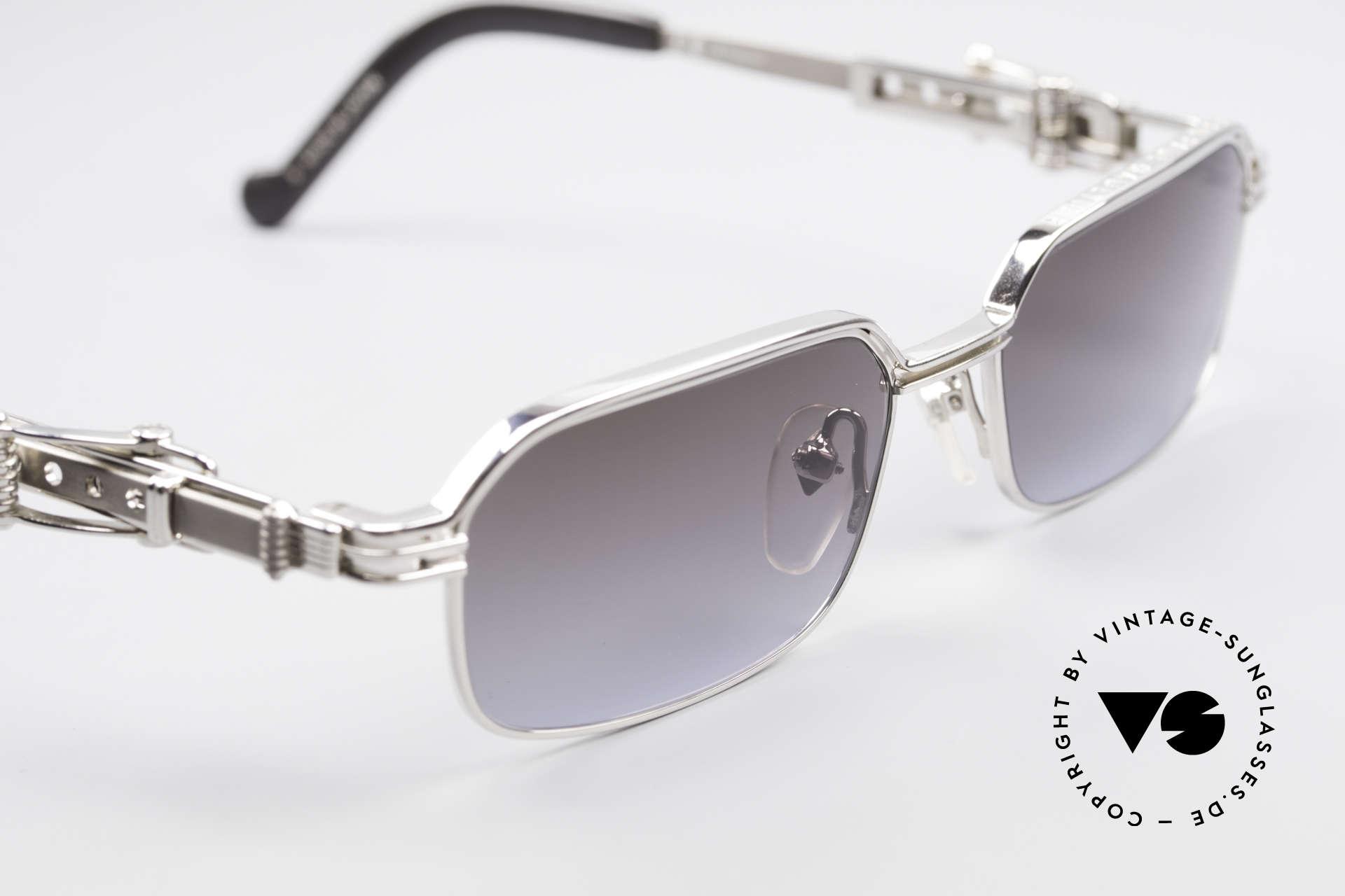 Jean Paul Gaultier 56-0002 Belt Buckle Frame Adjustable, metal frame can be glazed with optical lenses, too, Made for Men