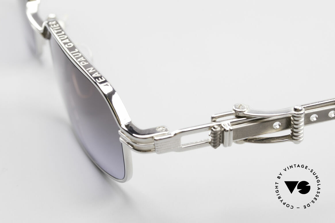 Jean Paul Gaultier 56-0002 Belt Buckle Frame Adjustable, NO retro glasses, but a true 20 years old Original!, Made for Men