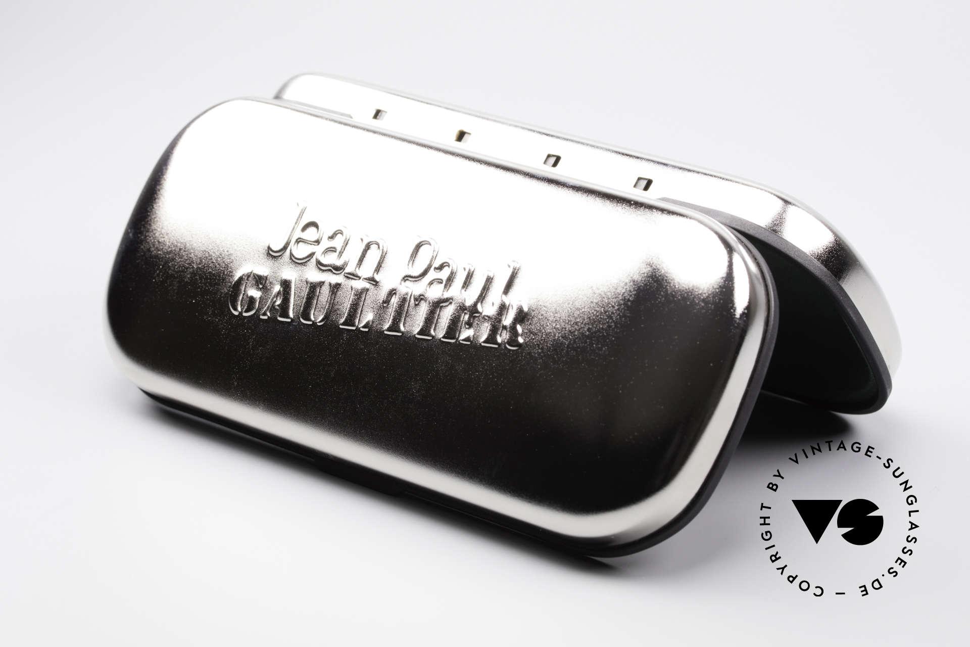 Jean Paul Gaultier 56-0002 Belt Buckle Frame Adjustable, Size: medium, Made for Men