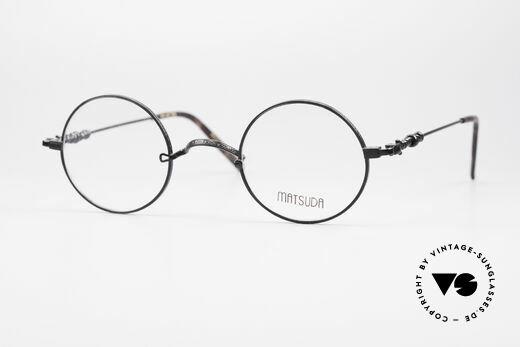 Matsuda 2869 Round 90's Vintage Glasses Details
