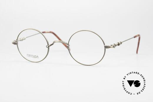 Matsuda 2869 90's Vintage Glasses Round Details