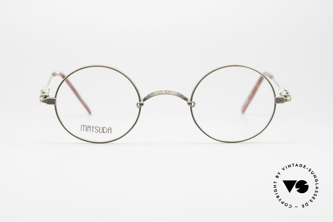 Matsuda 2869 90's Vintage Glasses Round, MATSUDA = a synonym for elaborate craftsmanship, Made for Men and Women