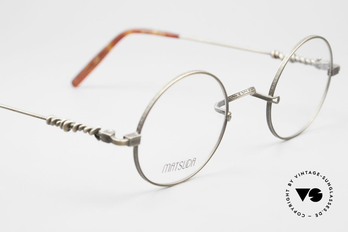 Matsuda 2869 90's Vintage Glasses Round, unworn rarity (a 'must have' for all lovers of quality), Made for Men and Women