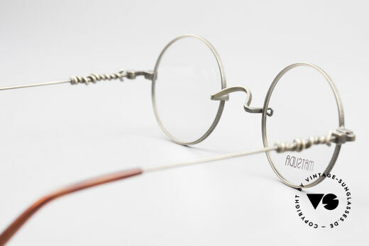 Matsuda 2869 90's Vintage Glasses Round, NO RETRO eyeglasses, but a 25 years old ORIGINAL!, Made for Men and Women