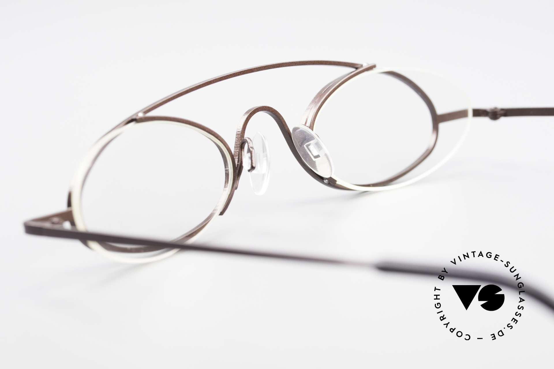 Theo Belgium Hababa Rimless Rimmed Frame Oval, unworn, one of a kind, Theo specs for all who dare ;), Made for Men and Women