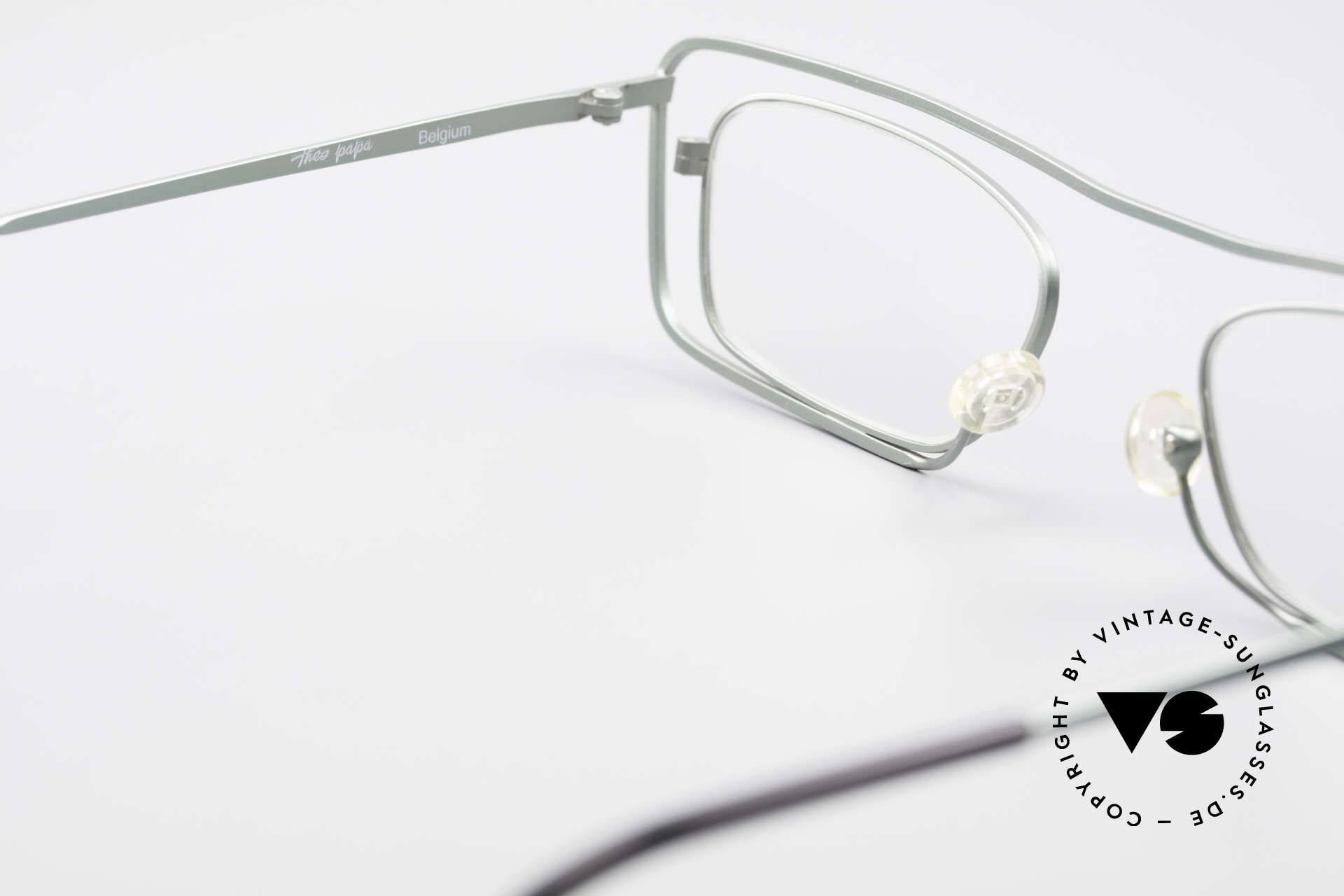 Theo Belgium Papa Vintage Glasses For Papa, clear DEMO lenses should be replaced with prescriptions, Made for Men