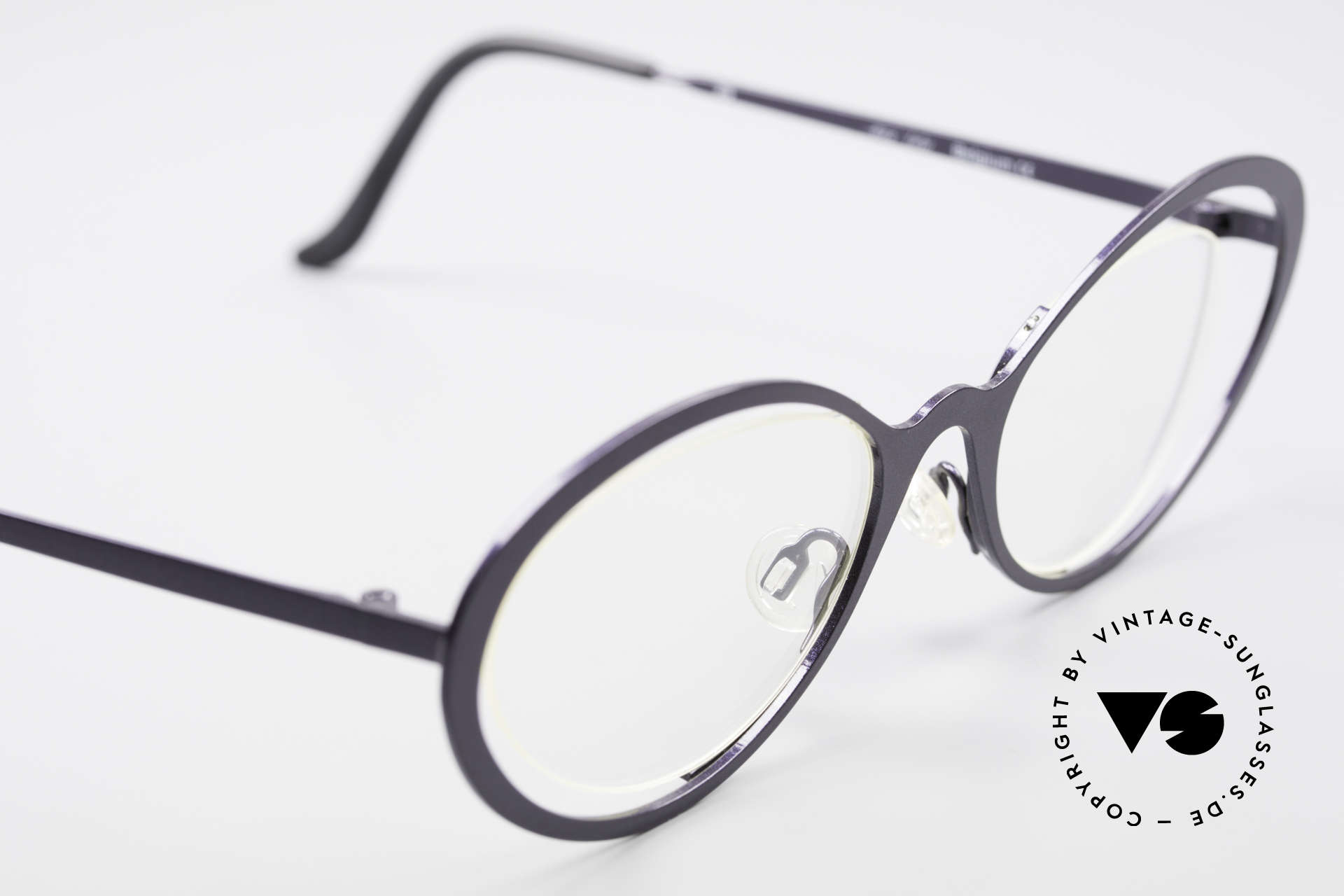 Theo Belgium LuLu Rimless Cateye Glasses 90's, unworn, one of a kind, Theo specs for all who dare ;), Made for Women