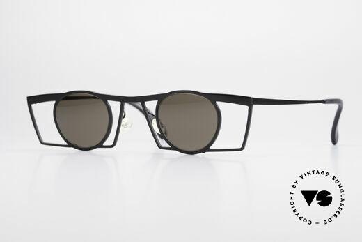 Theo Belgium Jupiter Square Designer Sunglasses Details