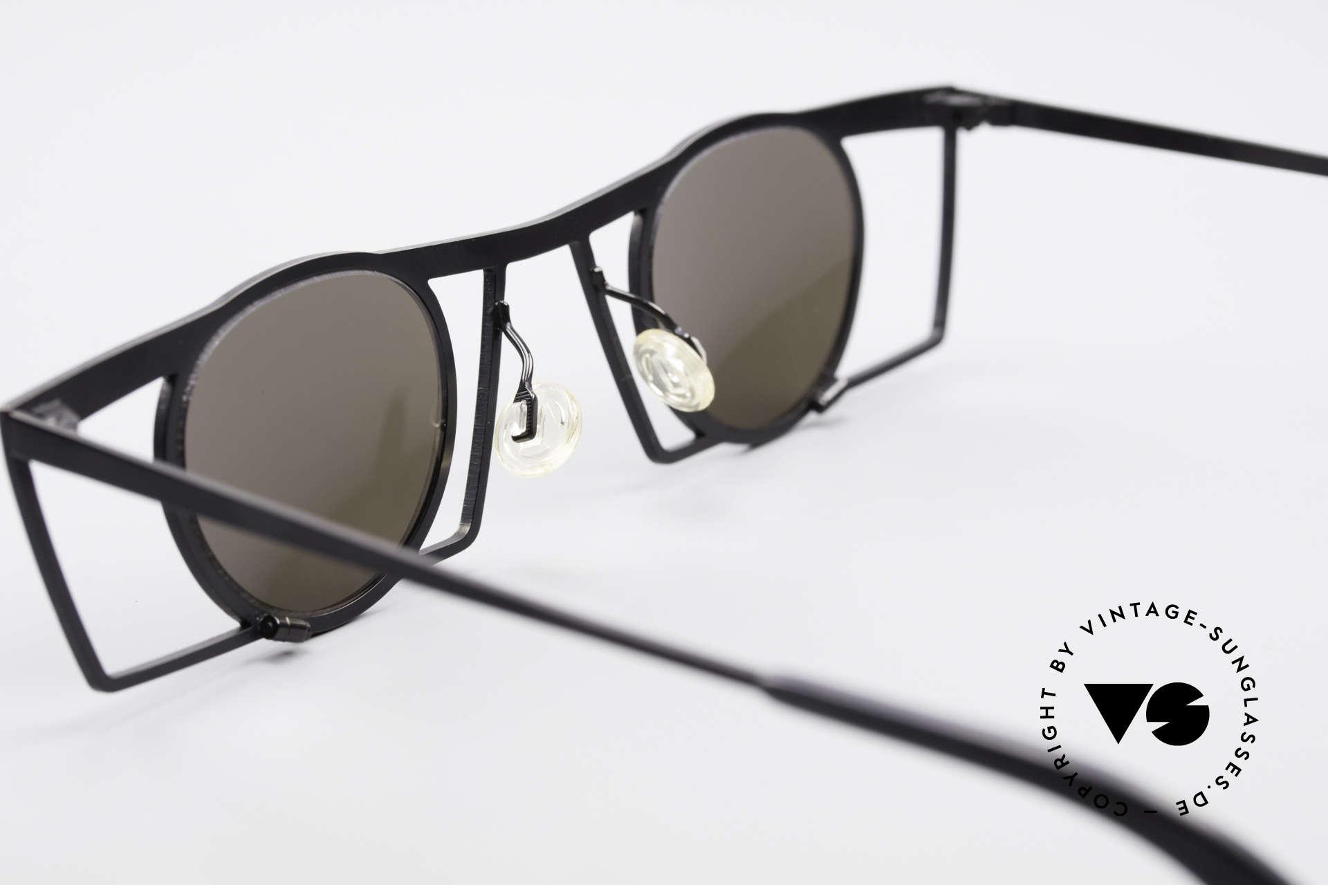 Theo Belgium Jupiter Square Designer Sunglasses, Size: medium, Made for Men and Women