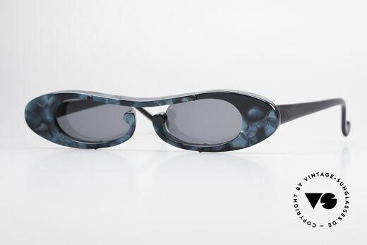 Theo Belgium Rage Avant-Garde Sunglasses 90's Details