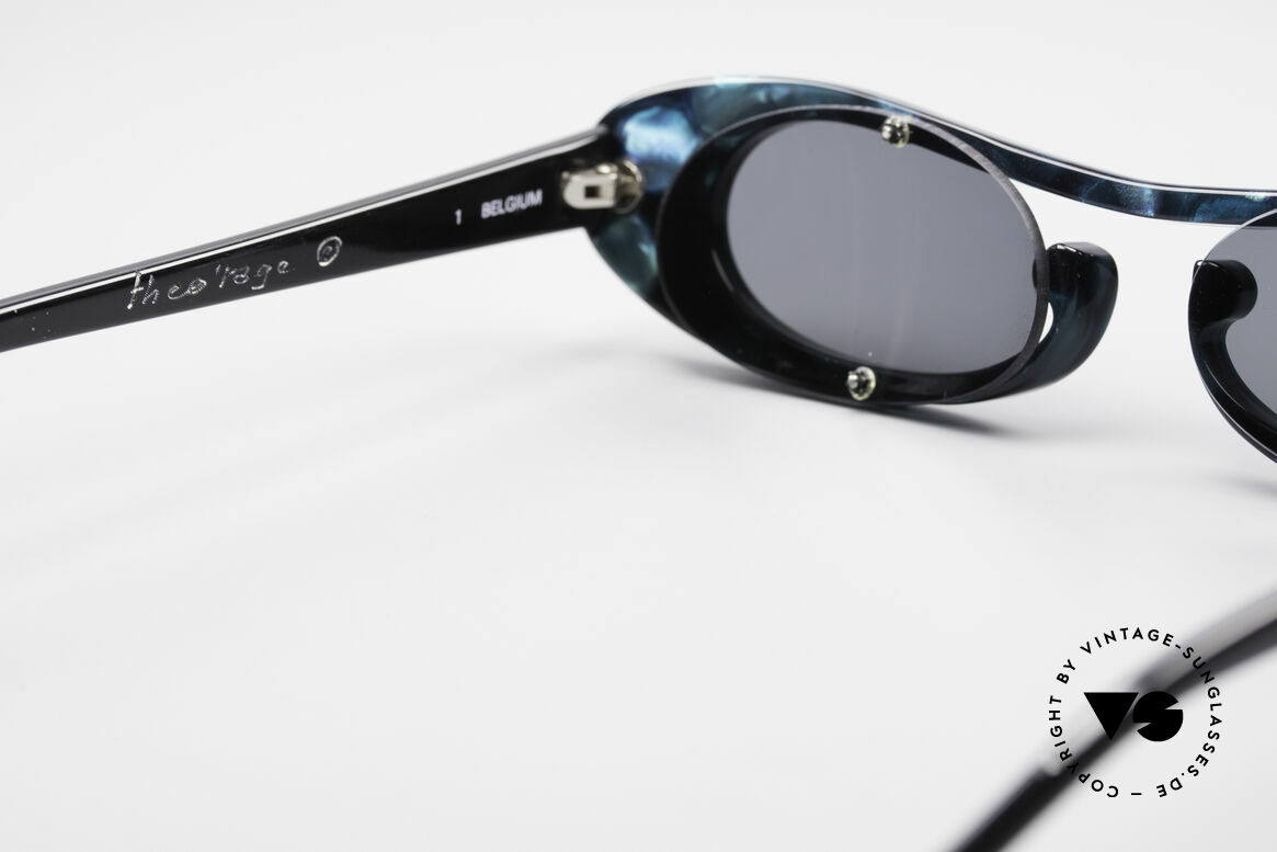 Theo Belgium Rage Avant-Garde Sunglasses 90's