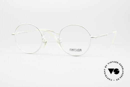 Matsuda 2872 Round 90's Designer Glasses Details